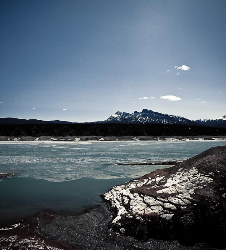 Lake Frozen Alberta