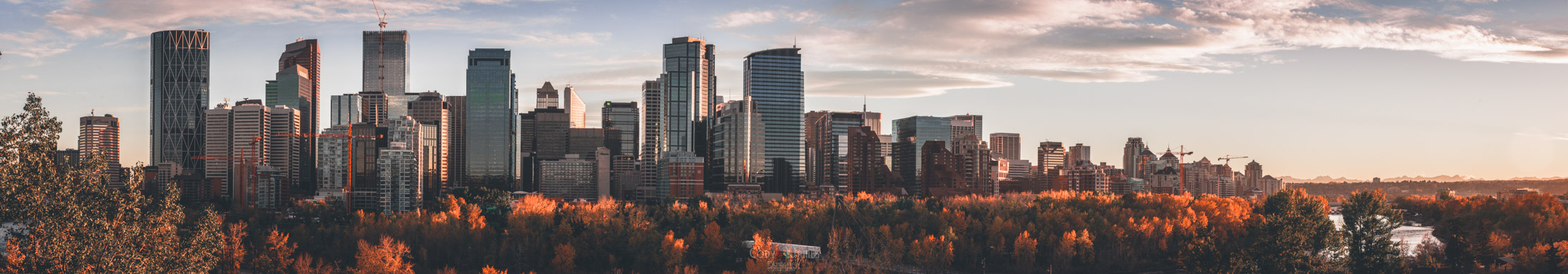 Downtown Calgary Panorama